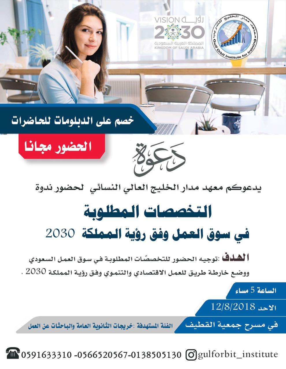 التخصصات المطلوبة 2030